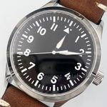 42mm Corgeut Sapphire Black Dial Japan 821A Miyota Automatic Watch dial white mark mens luminous hand watch