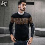 Autumn Men  Casual Sweater O-Neck Slim Fit Knitting Sweaters And Pullovers