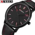 2016 New Luxury Brand Curren Men Leather Band Sports Watches Men's Quartz Analog Clock Male Casual Ultra Thin Dial Wrist Watch