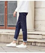 Autumn Men Casual Jeans male Street Home Elastic Pants Long denim Trousers