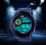 2016 Skmei Brand Men's LED Digital Watch Military Watch Running Dress Sports Watches Fashion Outdoor Wristwatches Reloj Hombre