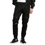 Aidiemeng Sweatpants Men Spring Casual Pants Men Sweatpants Elastic Waist Slim Fit Pencil Black Fitness Pants Fashion Harem