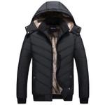 Aidiemeng Winter Men Jacket Brand Jacket Parka Casual Mens Jackets And Coats Thick Parka Men Outwear Jacket Male Clothing