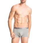 2PCS-pack Smooth Mens Underwear Boxers High Elastic Casual Men Underwear