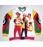 5 Styles Real American US Size Salt-n-Pepa-8-ball 3D Sublimation Printing Plus size 3XL 4XL 5XL 6XL bomber Zipper Up Jacket