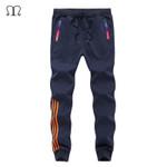 Autumn Casual Pants Men Skinny Mens Sweat Pants Male Cotton Sportswear Menswear Thick Warm Long Casual Trousers Straight Pants