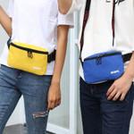 AIREEBAY Fanny Pack for Women Men Waist Bag Colorful Unisex Waist Pack New Fashion Female Belt Bag male Zipper Bum Bag Hip Pouch