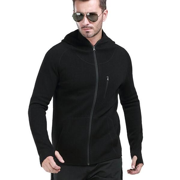 Anti-sweat Tactical Woolen Sweater with Hood