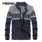 Autumn Winter Knitted Cardigan Men Casual Slim Pullover Sweater