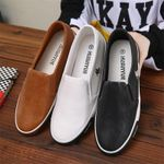 39-45 Mens Leather Shoes Sneakers Outdoor Male Man Loafers Brand Men's Shoes Casual Leather Shoes For Men Flats