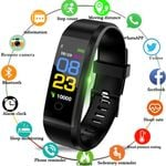 Bluetooth Smart Watch Men Women Heart Rate Monitor Blood Pressure Fitness Bracelet Smartwatch Sport Watch for ios android +BOX