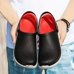 Big Size 40-45 Men Summer Shoes Non Slip Sandals Mens Slippers Lighted Flats Casual Snaekers Sandals New