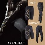 brand clothing men's compression short board Bermuda men's short paragraph quick-drying 3D24 hours spot X2U trousers MMA