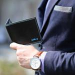 Baellerry Luxury Business Men Wallets Leather Short Male Credit Clutch Card Holder Wallet For Men Purse Coin Erkek Cuzdan W086