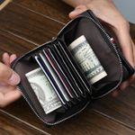Baellerry Many Departments Men Wallet With Zipper Extendable Credit Card Holder Brand Designer Small Wallet Male High Quality