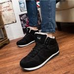 Big Size Snow Boots Men Fashion New Ankle Boots For Men Winter Shoes Warm Fur Winter Men Shoes Sneakers Boots Safety Shoes