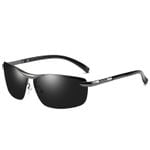 Brand Design Fashion Sunglasses Men Polarized Pilot Chameleon Photochromism Anti Glare Glasses Day Night Driving Male Sunglasses