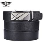Belt For Men Men's Genuine Leather Belts Luxury Black Business Formal Belt Male