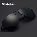 (9-colors) Men's Polarized Sunglasses Metal Alloy Driving Glasses 100% UV400 Protection Goggles Eyewear Male Pilot Style A143