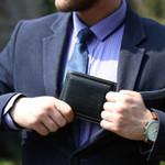 Baellerry Short Leather Brand Wallet Men Credit Card Holders Purse Vintage Male Clutch Trifold Man Money Bag Clip Cuzdan W030