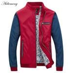 Bomber Jacket Men New Arrival Autumn Fashion Men's jacket coat Solid Male Jacket For Men Casual Slim Overcoat Windbreaker