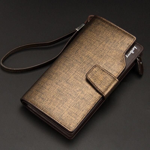 Baellerry Wallet Men Top Quality Leather Wallet Purse Fashion Casual Male Clutch Zipper Bag Brand Wallets Men Multifunction !