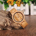 BOBO BIRD LP23 Drop Shipping Designer Bamboo Wooden Watches Men with Stainless Steel Clasp Quartz Relogio in Box