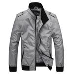 Bomber Jacket Men Windbreaker Spring New Fashion Cotton Jacket Men's Casual Jackets Male Jacket Coat Men Coat Outwear JK281