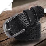 Belts For Men Designer High Quality Luxury Genuine Leather Pin Buckle Casual Business Men Belt