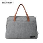 BAGSMART New Fashion Nylon Men 14 Inch Laptop Bag Famous Brand Shoulder Bag Messenger Bags Causal Handbag Laptop Briefcase Male