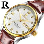 Brand Luxury Famous Men Original Desgin Clock Fashion Leisure Dress Quartz Hours Business leather Watch Male Relogio Masculino