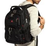 BAIJIAWEI Men Laptop Backpack Mochila Masculina 15 Inch Backpacks Luggage & Men's Travel Bags Waterproof Capacity Bag waterproof