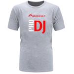 BAIJOE DJ style Pioneer O-NECK T-shirt Men new summer fashion tshirt for Pioneer DJ PRO T Shirt Men Tees