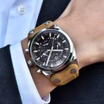 BENYAR Mens Watches Military Army Chronograph Watch Brand Luxury Sports Casual Waterproof Male Watch Quartz Man Wristwatch XFCS