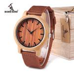 BOBO BIRD WD10 Mens Luxury Top Brand Design Watch Men Wood Wristwatches Designer Watches Luxury Bamboo Watch Gift Box Accept OEM