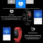 BINSSAW Men Women Kid New Smart Watch Heart Rate Monitor Blood Pressure Fitness Tracker Bluetooth Sport Watches for ios android