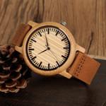 BOBO BIRD Wooden Watch Men Quartz Quartz Wristwatches Male Bamboo Masculinos relogios in Gift Box custom logo kol saati