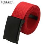 Best YBT Men Belt Fashion Unisex Men Women Belts Army Tactical Waist Belt Jeans Male Casual Luxury Canvas cowboy Waistband