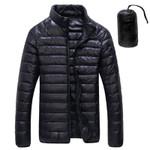 Autumn Winter White Duck Downs Jacket Men Ultralight Portable Parkas Coat Casual Warm Windproof Jacket Male Outwear 5XL 6XL