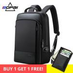 BOPAI Men Backpack Expandable Weekend Travel Backpack Men Water Repellent Laptop Backpack Computer Back Pack Male Bagpack