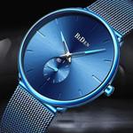 BIDEN Brand New Ultra-Thin Simple Men 's Watches Waterproof Fashion Casual Date Watch 3ATM Quartz Wristatch Relogio Masculino