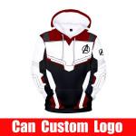 Avengers Endgame Quantum Realm Sweatshirt with hooded Advanced Tech Hoodie Cosplay Costumes new superhero Iron Man Hoodies