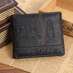 Bifold Short Men Wallet Brand Luxury Men Wallets Office Male Mature Man Bifold Purse Zipper High Quality Male Card ID Holder