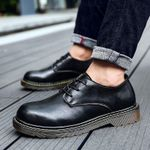 Brand New Men Doc Dr Martins Shoes genuine Leather Autmn Winter Boot British Style classic Casual Shoes Dr. Boots