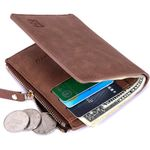 Baborry Wallet Fashion Short Bifold Men Wallet Casual Solid Men Wallets With Coin Pocket Purses Male Thin Soft Mini Wallets