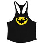 Batman Miscalculation Vest bodybuilding clothing and fitness undershirt workout stringer tank tops golds men undershirt