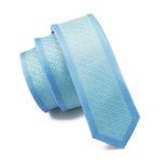 Blue Tie Silk Necktie Fix Pattern New Casual Classic Fashion For Men Wedding Party Business