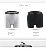 Boxer Sexy Boxer Men Underwear Cotton Boxer Short Colorful Breathable Belt Shorts Boxer Pure color