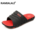 Brand Brand Men Slippers Men Slides Fashion Summer Casual Beach Flip Flops Shoes Non-slip Indoor House Home Slippers