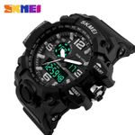 SKMEI Brand Top Digital And Analog Men Sports Watch Military Army Swim Watch Casual LED Army Wristwatches 1155 Dropshipping